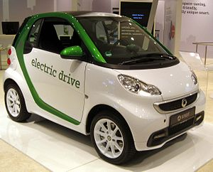Smart electric drive - 2013 Smart electric drive