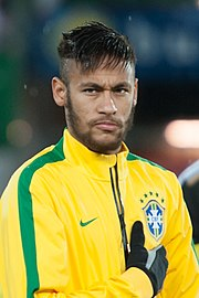 Neymar im Dress der Nationalmannschaft (2014) Carlos Tevez Juventus