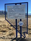 2015-01-14 11 21 18 Osceola, Nevada historical marker along U.S. Routes 6 and 50 in White Pine County, Nevada.JPG