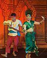 2016 Phnom Penh, Tradycyjny Kambodżański Pokaz Tańca (154).jpg