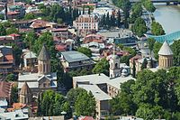 2016 Tbilisi, Widoki z Twierdzy Narikala (06).jpg