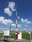 2017-06-06 10 46 17 Ice-free wind sensor on the Automated Surface Observing System (ASOS) at Ronald Reagan Washington National Airport in Arlington County, Virginia.jpg