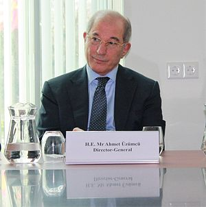 Organisation for the Prohibition of Chemical Weapons - Ahmet Üzümcü, Director-General of the OPCW
