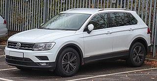 Volkswagen Tiguan off-road vehicle