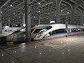 201908 CRH3C-3004 and CR400BF at Chongqingxi Station.jpg