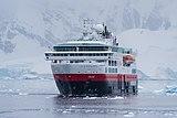 2020-08-24 MS FRAM - IMO 9370018, at Brown Station, Antarctica 2019-03-10.jpg