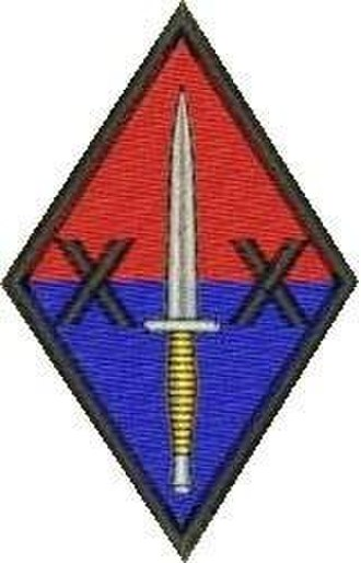 20 Battery Royal Artillery - 20 Battery badge