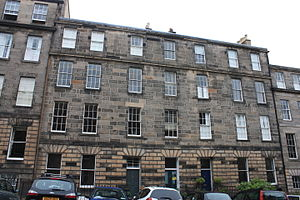 George Aikman - Aikman's home, 22 Scotland Street, Edinburgh