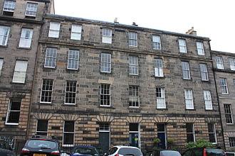 George Aikman - Aikman's home, 22 Scotland Street, Edinburgh