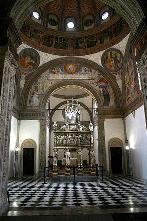 Portinari Chapel - Image: 250 Milano Sant'Eustorgio Cappella Portinari Foto Giovanni Dall'Orto 1 Mar 2007