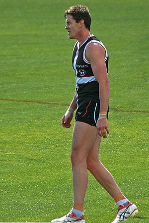 Jason Blake (footballer) - Image: 27. Jason Blake, St Kilda FC 02