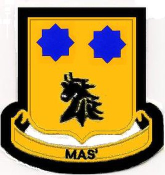 2nd Cavalry Division (United States) - Image: 28 Cav Rgt DUI