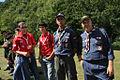 2nd Ukrainian Scout Jamboree 2009 - Georgian and Algerian scouts.jpg