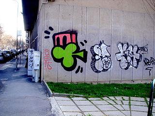 3383 - Milano - Graffiti - Foto Giovanni Dall'Orto, 23-Jan-2008.jpg