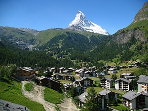 3804 - Winkelmatten - Matterhorn viewed from Gornergratbahn