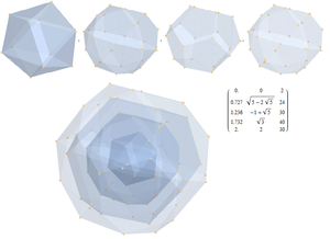 E7 (mathematics) - Image: 3 21 E7 to 3D H3 symmetry concentric hulls