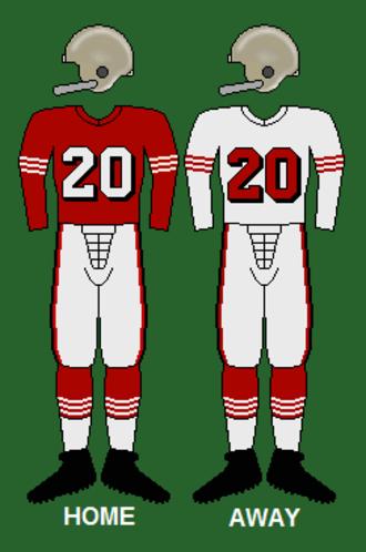 1957 San Francisco 49ers season - Image: 49ers 55 57