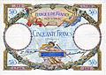50 francia frank bankjegy 1930, előoldal.JPG