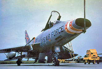 531st Tactical Fighter Squadron - Image: 531st Tactical Fighter Squadron North American F 100D 30 NA Super Sabre 55 3809