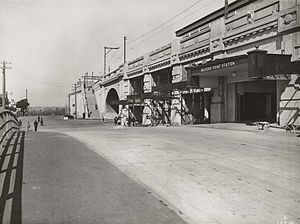 Milsons Point railway station - Eastern entrance
