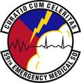 59 Emergency Medical Sq emblem.png