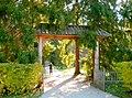 663. Mikhailovskoye. Gates on Spruce alley.jpg