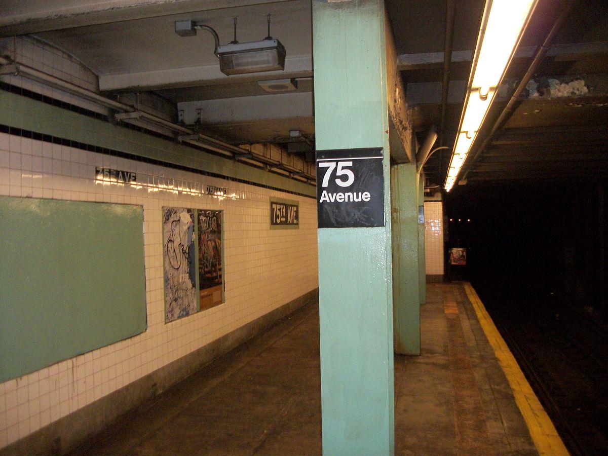 City Line Avenue >> 75th Avenue station - Wikipedia