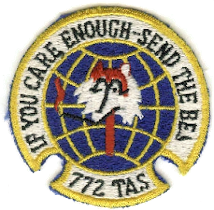 772d Expeditionary Airlift Squadron - Emblem of the 772d Tactical Airlift Squadron