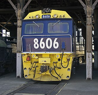 Commonwealth Engineering - FreightCorp 8606 at Junee Roundhouse Railway Museum in March 2011