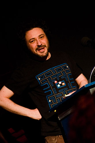 Jeremy Dyson - Dyson at the Fantastic Films Weekend in 2010
