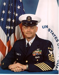 Frank A. Welch 9th Master Chief Petty Officer of the Coast Guard