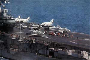 A-4Fs being launched off Vietnam from USS Hancock (CVA-19) c1969.jpg