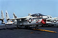 A-7E VA-12 on USS Eisenhower (CVN-69) 1980.JPEG