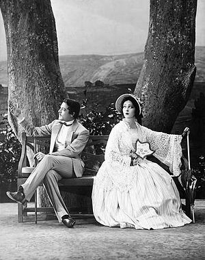 Alla Nazimova - Elliot Cabot and Alla Nazimova in the Theatre Guild production of A Month in the Country (1930)