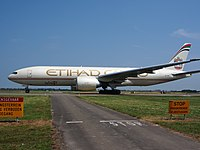 A6-DDC - B77L - Etihad Airways