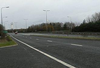 A66 road - Image: A6610 Road