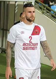 Aaron Evans Australian soccer player