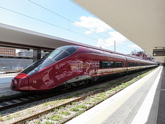Transport in Italy - New Italo high-speed train of NTV, capable of 360 km/h
