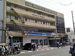 Asian Institute of Maritime Studies - AIMS College of Business Building (along A. Arnaiz Street)