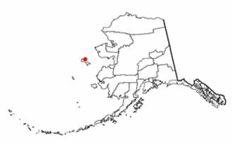 St. Lawrence Island - Location of Savoonga, Alaska