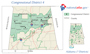United States House of Representatives elections in Alabama, 2006 - Image: AL04 110