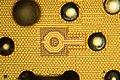 AMD@14nm@Zen(Zeppelin)@Summit Ridge@Ryzen 3 1200@YD1200BBM4KAE UA 1724PGT 9GW9105S70241 DSCx2 top layer closeup@25x (36031980680).jpg