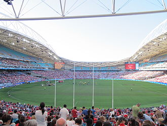 Australian rules football in New South Wales - Image: ANZ Stadium, Essendon