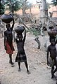 ASC Leiden - W.E.A. van Beek Collection - Dogon markets 14 - Small girls sell from their own small jar, Tireli, Mali 1995.jpg