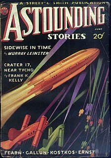 Sidewise in Time short story