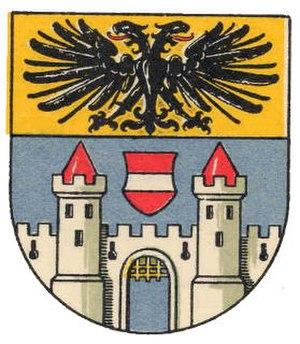 Drosendorf-Zissersdorf - Image: AUT Drosendorf Zissersdorf COA