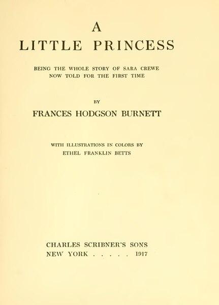 File:A Little Princess.djvu