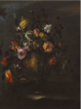 A STILL LIFE OF ROSES, TULIPS AND OTHER FLOWERS .PNG