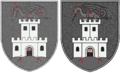 A comparison of two images of the Ljubljana Coat-of-arms.png
