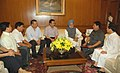 A delegation from Arunachal Pradesh led by the Chief Minister, Shri Dorjee Khandu calling on the Prime Minister, Dr. Manmohan Singh in New Delhi on April 25, 2007.jpg
